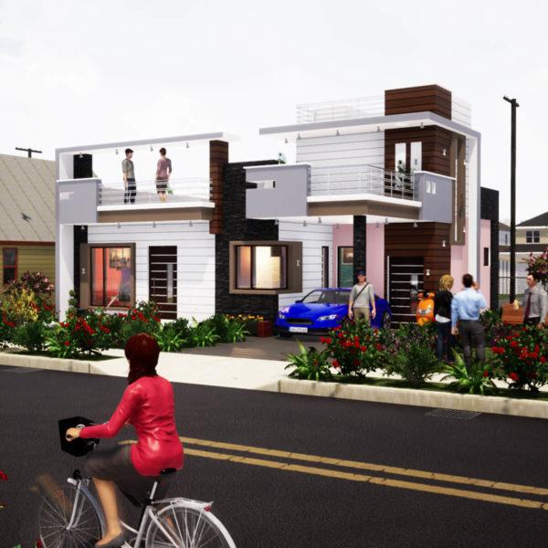 1100 SQF House Design