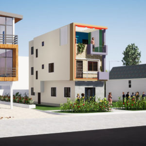 14x45 Feet House Design