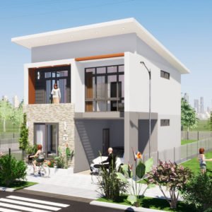 24x30 Feet House Design 3BHK