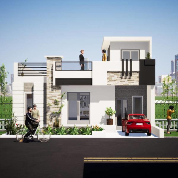 30x51 Feet House Design