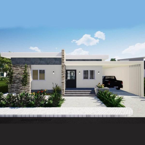 43x51 Feet House Design