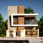 30 By 30 Feet Small House Design With 2 Bedroom
