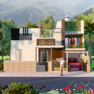 30x40 House Design With Two Bedroom