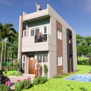 15x35 Feet Small House Design Morden House