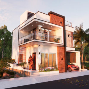 30x40 Feet Morden House Design With 3 Bedroom
