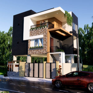 Small House Design With Car Parking Size 30x30 Feet Complete Details