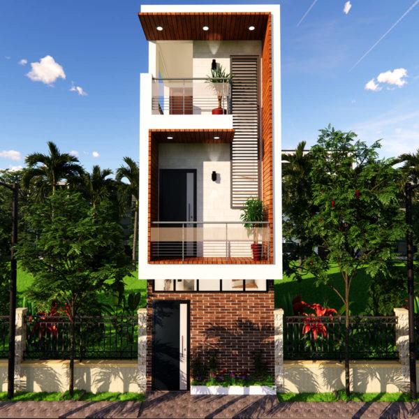 Small House Design 10x30 Feet