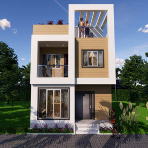 20x25 Feet Small Space House Design