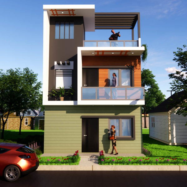 20x30 Feet Small Space House Design 20 by 30 Feet