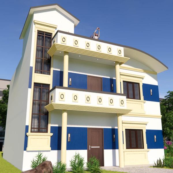 30x38 Feet Morden House Design