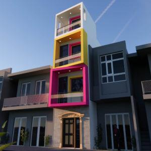 10x36 Feet Small House Design